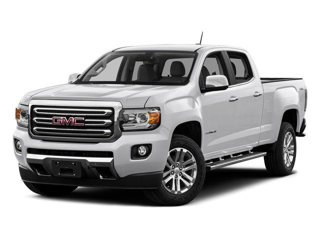 Summit White 2015 GMC Canyon Pictures Canyon Crew Cab SLE 2WD photos front view