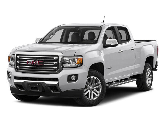 Summit White 2015 GMC Canyon Pictures Canyon Crew Cab SLT 2WD photos front view