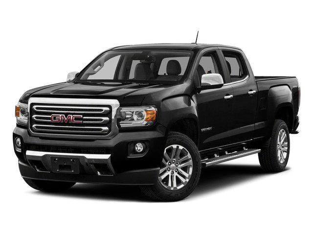 Onyx Black 2015 GMC Canyon Pictures Canyon Crew Cab SLE 2WD photos front view
