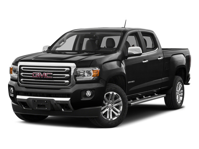 Onyx Black 2015 GMC Canyon Pictures Canyon Crew Cab SLT 2WD photos front view