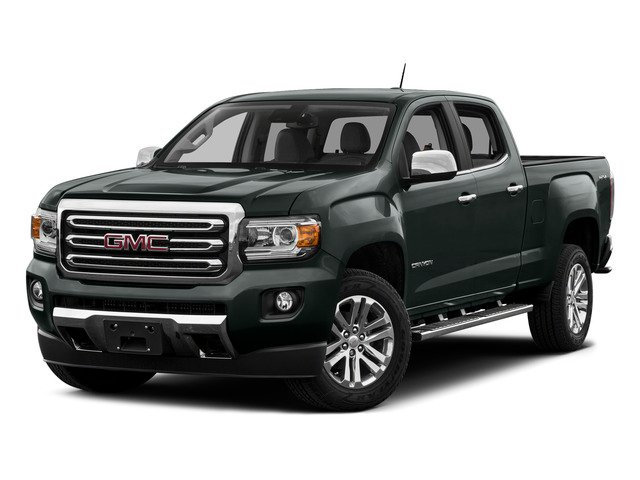Cyber Gray Metallic 2015 GMC Canyon Pictures Canyon Crew Cab SLE 2WD photos front view