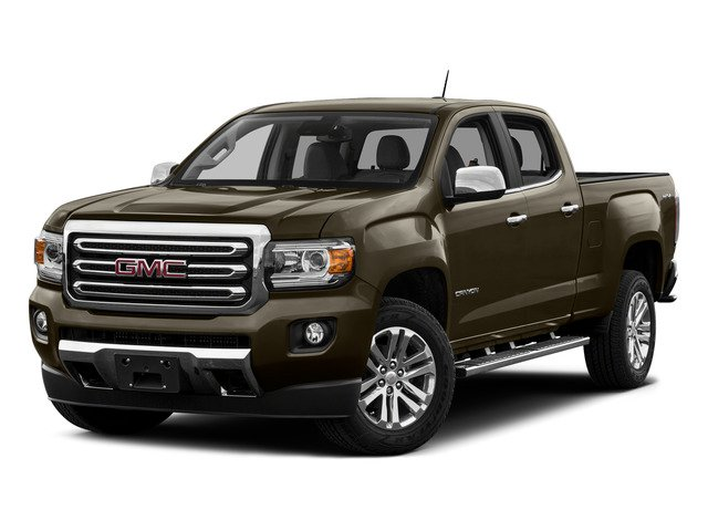 Bronze Alloy Metallic 2015 GMC Canyon Pictures Canyon Crew Cab SLT 2WD photos front view
