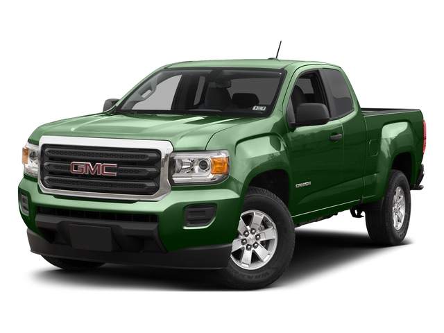 Emerald Green Metallic 2015 GMC Canyon Pictures Canyon Extended Cab SLE 2WD photos front view