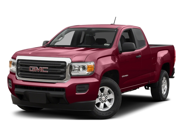 Copper Red Metallic 2015 GMC Canyon Pictures Canyon Extended Cab SLE 2WD photos front view