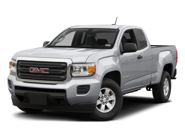Quicksilver Metallic 2015 GMC Canyon Pictures Canyon Extended Cab SLE 2WD photos front view