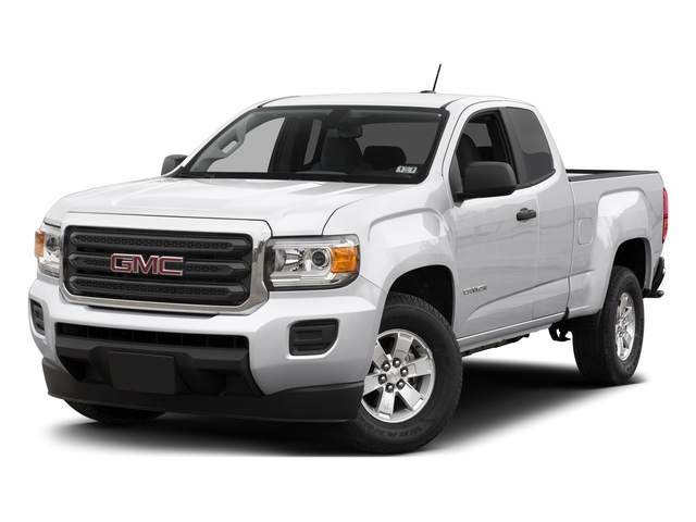 Summit White 2015 GMC Canyon Pictures Canyon Extended Cab SLE 2WD photos front view