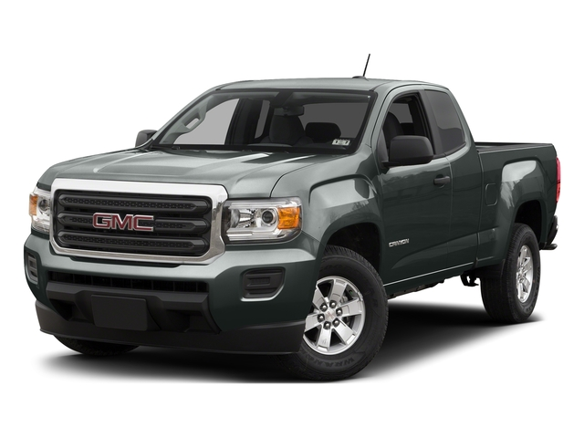 Cyber Gray Metallic 2015 GMC Canyon Pictures Canyon Extended Cab SLE 2WD photos front view