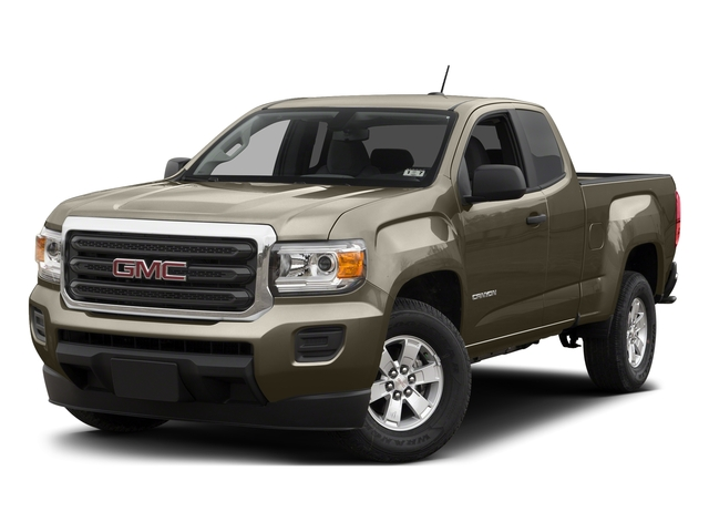 Bronze Alloy Metallic 2015 GMC Canyon Pictures Canyon Extended Cab SLE 2WD photos front view