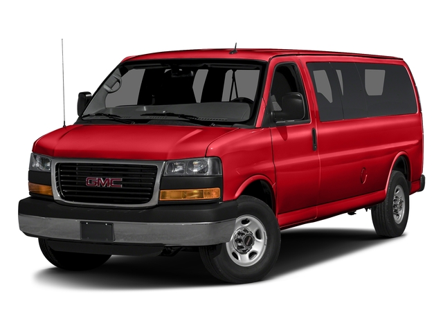 Cardinal Red 2015 GMC Savana Passenger Pictures Savana Passenger Savana LT 135 photos front view
