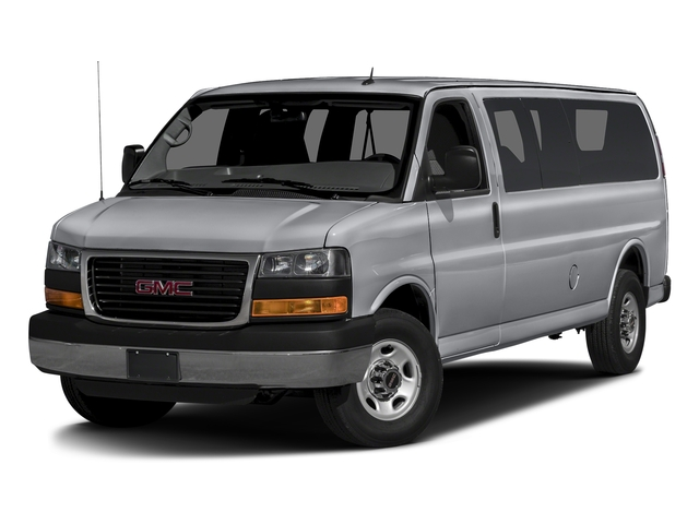 Quicksilver Metallic 2015 GMC Savana Passenger Pictures Savana Passenger Savana LT 135 photos front view