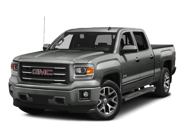 Light Steel Gray Metallic 2015 GMC Sierra 1500 Pictures Sierra 1500 Crew Cab SLE 2WD photos front view