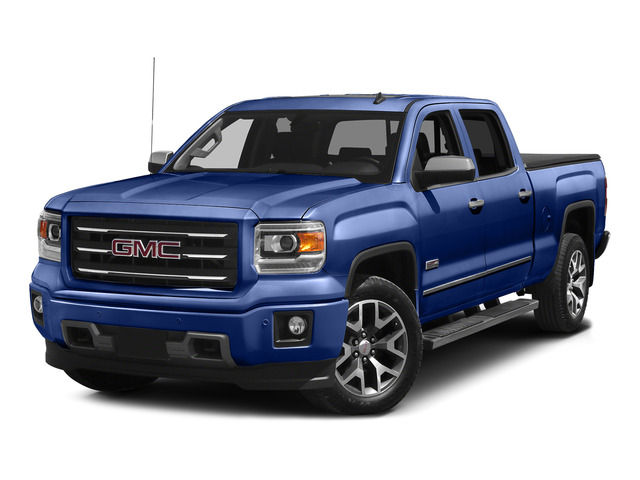 Stone Blue Metallic 2015 GMC Sierra 1500 Pictures Sierra 1500 Crew Cab SLE 2WD photos front view