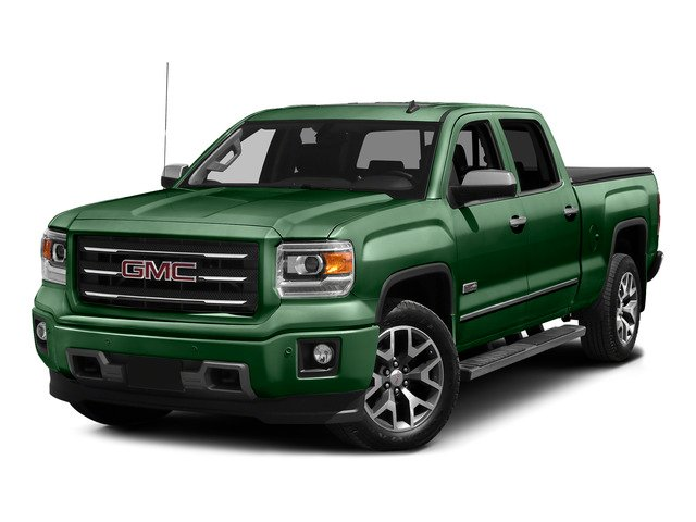 Emerald Green Metallic 2015 GMC Sierra 1500 Pictures Sierra 1500 Crew Cab SLE 2WD photos front view