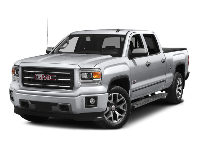 Quicksilver Metallic 2015 GMC Sierra 1500 Pictures Sierra 1500 Crew Cab SLE 2WD photos front view