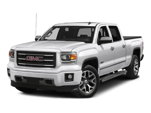 Summit White 2015 GMC Sierra 1500 Pictures Sierra 1500 Crew Cab SLE 2WD photos front view