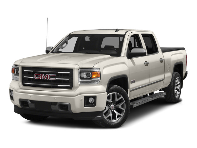 White Diamond Tricoat 2015 GMC Sierra 1500 Pictures Sierra 1500 Crew Cab SLE 2WD photos front view