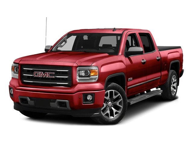 Fire Red 2015 GMC Sierra 1500 Pictures Sierra 1500 Crew Cab SLE 2WD photos front view