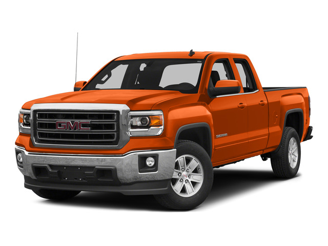 Cayenne Metallic 2015 GMC Sierra 1500 Pictures Sierra 1500 Extended Cab SLT 4WD photos front view