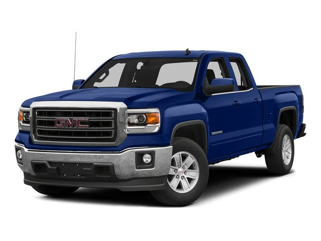 Stone Blue Metallic 2015 GMC Sierra 1500 Pictures Sierra 1500 Extended Cab SLE 4WD photos front view