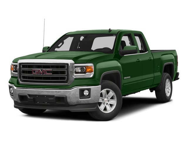 Emerald Green Metallic 2015 GMC Sierra 1500 Pictures Sierra 1500 Extended Cab SLE 4WD photos front view