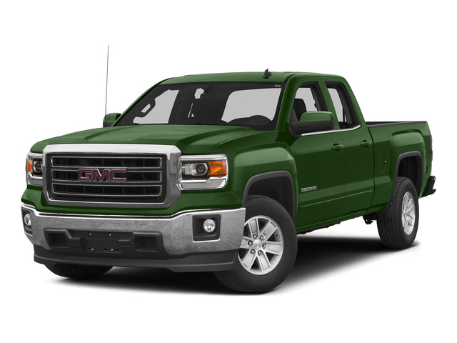 Emerald Green Metallic 2015 GMC Sierra 1500 Pictures Sierra 1500 Extended Cab SLT 4WD photos front view