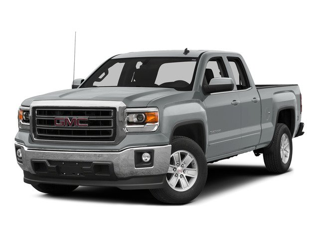Quicksilver Metallic 2015 GMC Sierra 1500 Pictures Sierra 1500 Extended Cab SLE 4WD photos front view