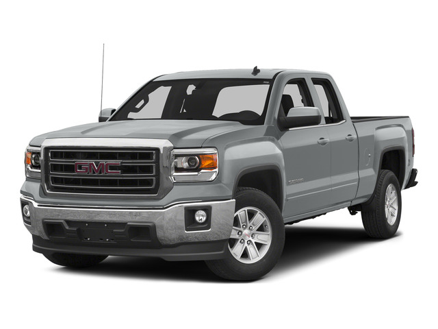 Quicksilver Metallic 2015 GMC Sierra 1500 Pictures Sierra 1500 Extended Cab SLT 4WD photos front view