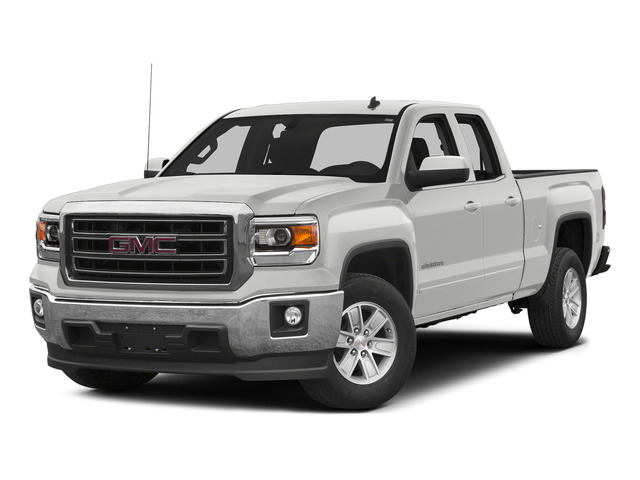 Summit White 2015 GMC Sierra 1500 Pictures Sierra 1500 Extended Cab SLE 4WD photos front view