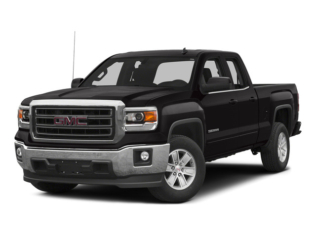 Onyx Black 2015 GMC Sierra 1500 Pictures Sierra 1500 Extended Cab SLT 4WD photos front view