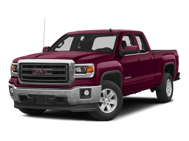 Sonoma Red Metallic 2015 GMC Sierra 1500 Pictures Sierra 1500 Extended Cab SLE 4WD photos front view