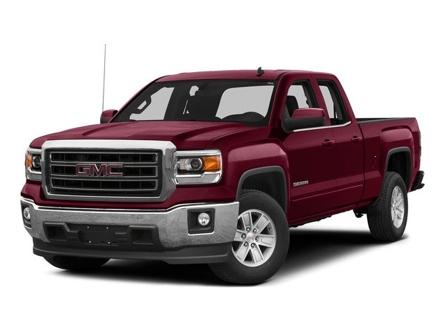 Sonoma Red Metallic 2015 GMC Sierra 1500 Pictures Sierra 1500 Extended Cab SLT 4WD photos front view