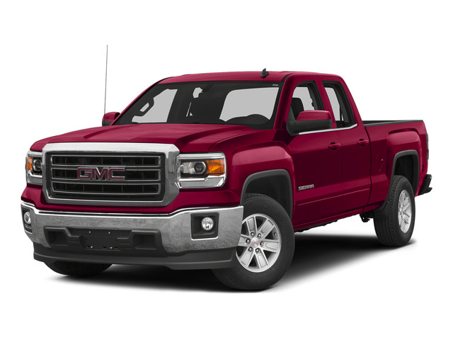 Fire Red 2015 GMC Sierra 1500 Pictures Sierra 1500 Extended Cab SLT 4WD photos front view