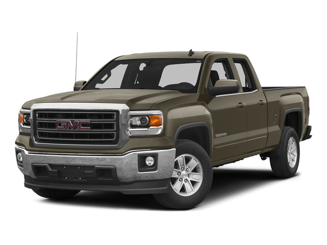 Bronze Alloy Metallic 2015 GMC Sierra 1500 Pictures Sierra 1500 Extended Cab SLT 4WD photos front view