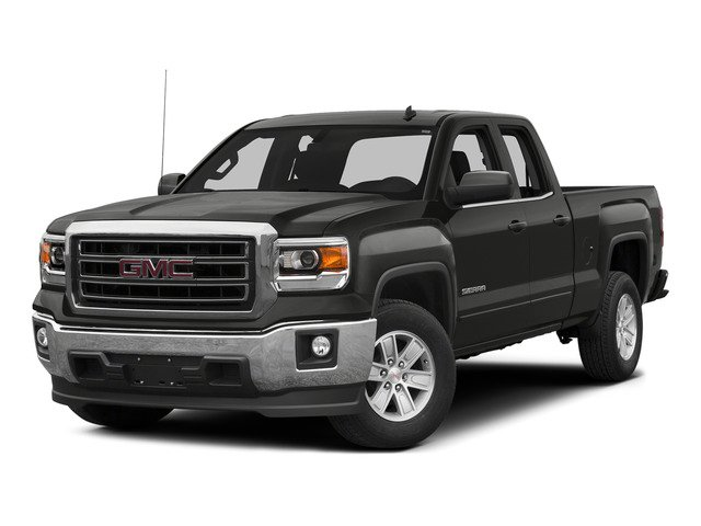 Iridium Metallic 2015 GMC Sierra 1500 Pictures Sierra 1500 Extended Cab SLE 4WD photos front view