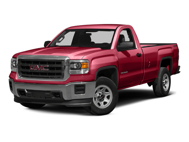 Fire Red 2015 GMC Sierra 1500 Pictures Sierra 1500 Regular Cab 2WD photos front view