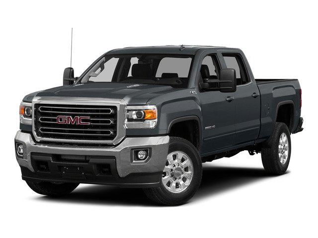 Stealth Gray Metallic 2015 GMC Sierra 2500HD Pictures Sierra 2500HD Crew Cab Work Truck 4WD photos front view
