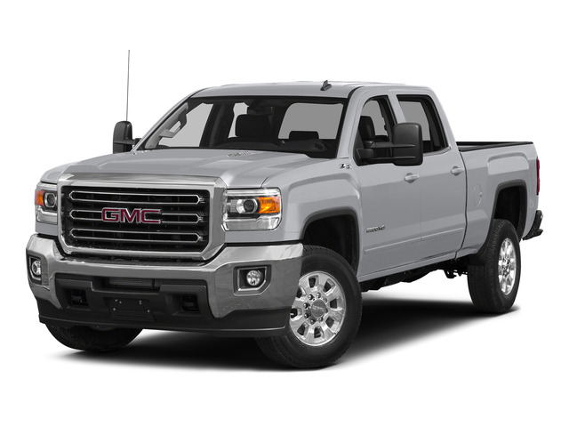 Quicksilver Metallic 2015 GMC Sierra 2500HD Pictures Sierra 2500HD Crew Cab Work Truck 4WD photos front view