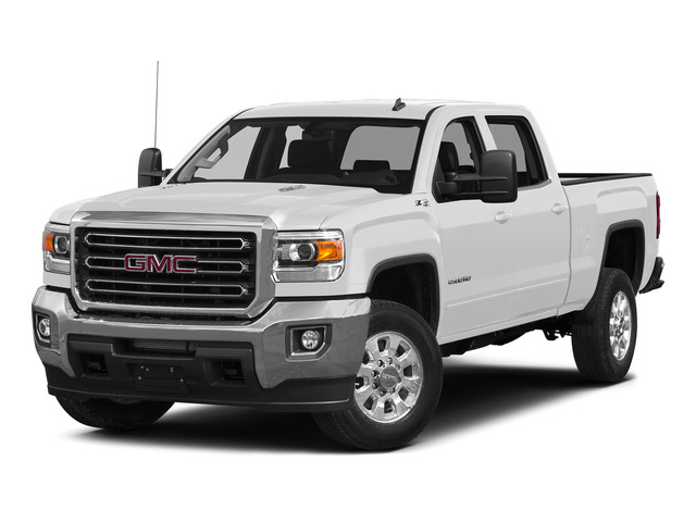 Summit White 2015 GMC Sierra 2500HD Pictures Sierra 2500HD Crew Cab Work Truck 4WD photos front view