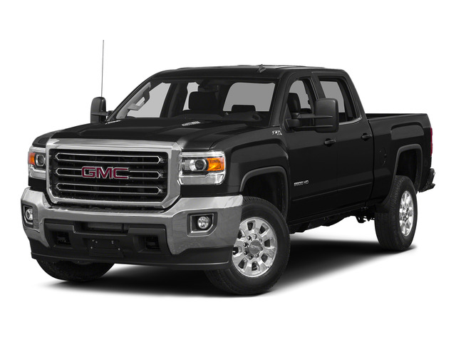 Onyx Black 2015 GMC Sierra 2500HD Pictures Sierra 2500HD Crew Cab Work Truck 4WD photos front view