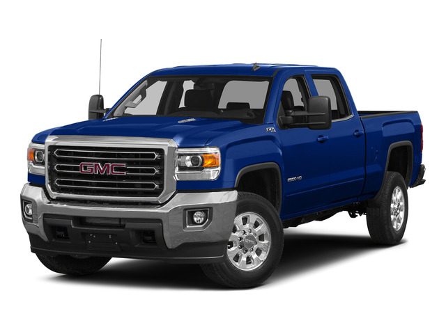 Cobalt Blue Metallic 2015 GMC Sierra 2500HD Pictures Sierra 2500HD Crew Cab Work Truck 4WD photos front view