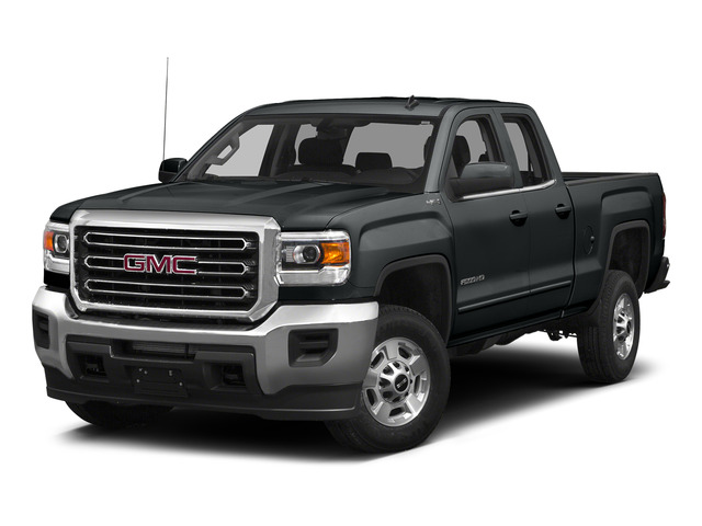 Stealth Gray Metallic 2015 GMC Sierra 2500HD Pictures Sierra 2500HD Extended Cab SLT 4WD photos front view