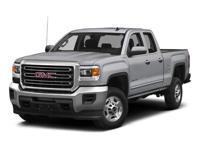 Quicksilver Metallic 2015 GMC Sierra 2500HD Pictures Sierra 2500HD Extended Cab SLT 4WD photos front view