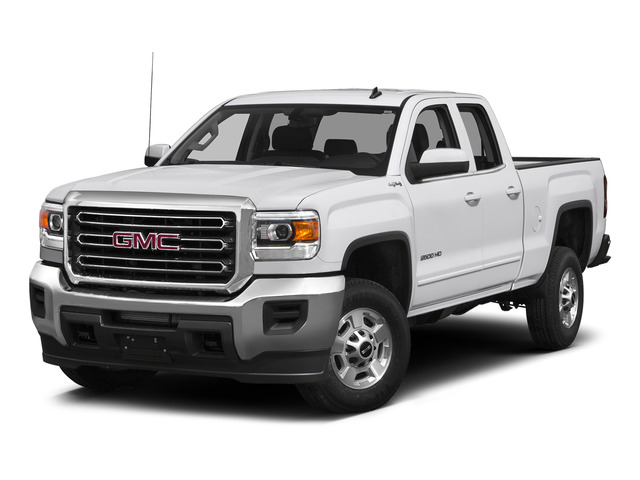 Summit White 2015 GMC Sierra 2500HD Pictures Sierra 2500HD Extended Cab SLT 4WD photos front view