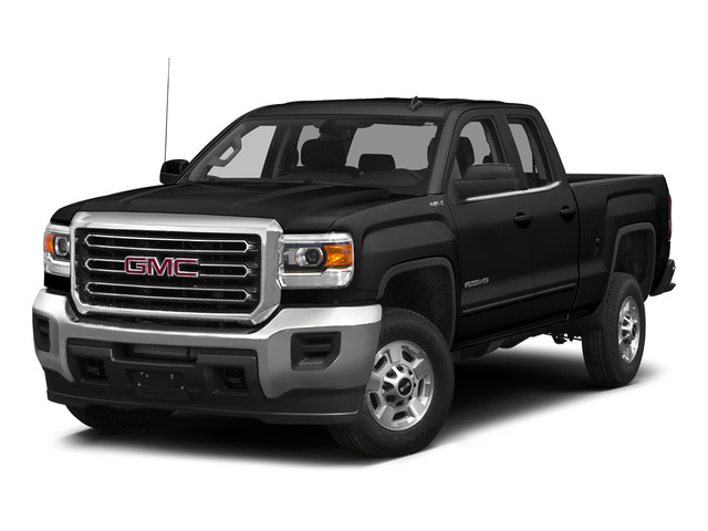Onyx Black 2015 GMC Sierra 2500HD Pictures Sierra 2500HD Extended Cab SLT 4WD photos front view
