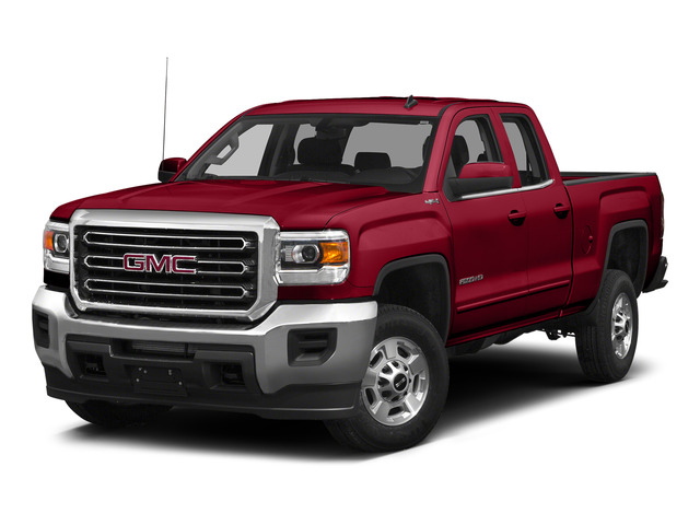 Fire Red 2015 GMC Sierra 2500HD Pictures Sierra 2500HD Extended Cab SLT 4WD photos front view