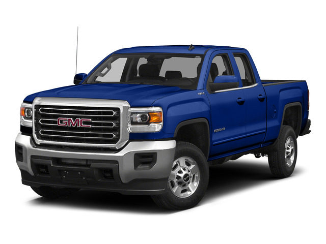 Cobalt Blue Metallic 2015 GMC Sierra 2500HD Pictures Sierra 2500HD Extended Cab SLT 4WD photos front view