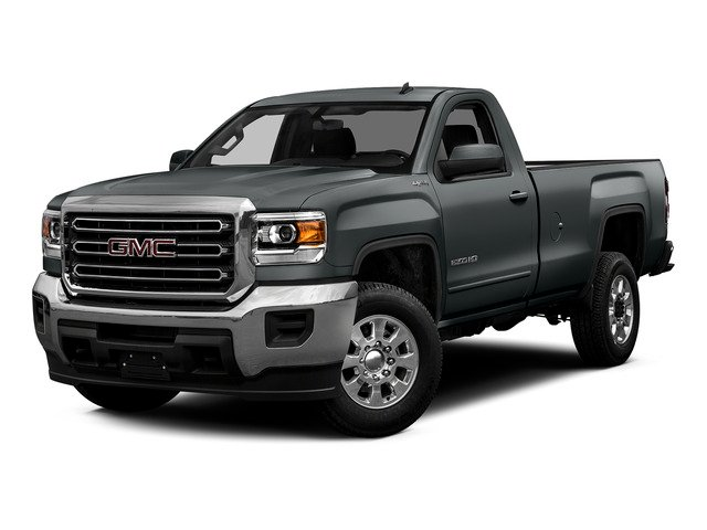 Stealth Gray Metallic 2015 GMC Sierra 2500HD Pictures Sierra 2500HD Regular Cab SLE 4WD photos front view