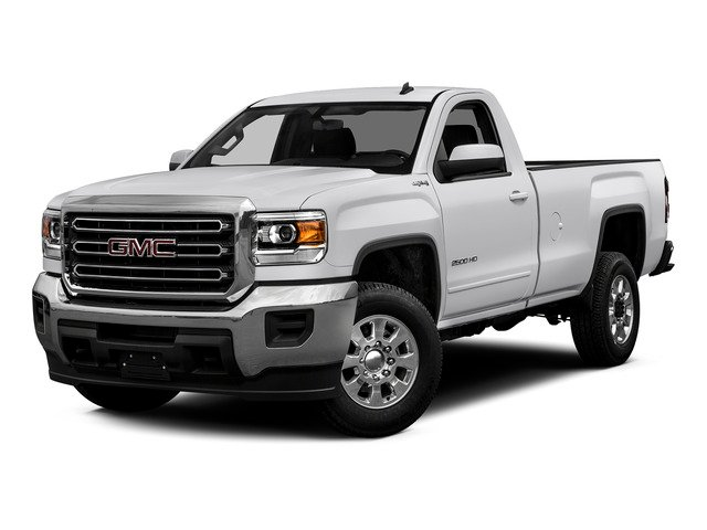 Summit White 2015 GMC Sierra 2500HD Pictures Sierra 2500HD Regular Cab SLE 4WD photos front view