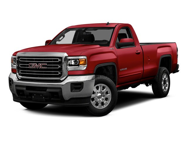 Fire Red 2015 GMC Sierra 2500HD Pictures Sierra 2500HD Regular Cab Work Truck 2WD photos front view