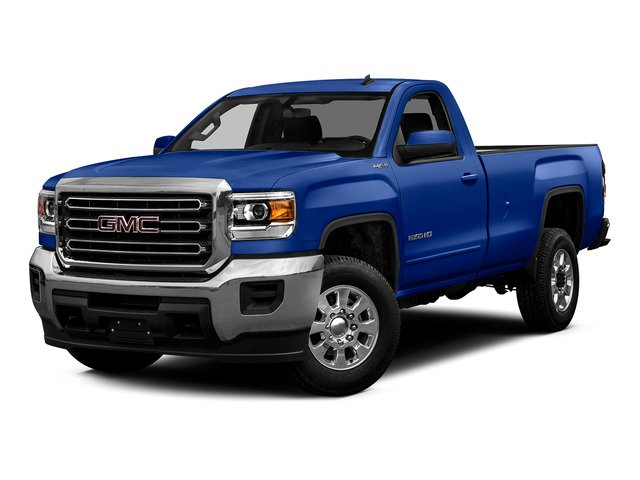 Cobalt Blue Metallic 2015 GMC Sierra 2500HD Pictures Sierra 2500HD Regular Cab Work Truck 2WD photos front view
